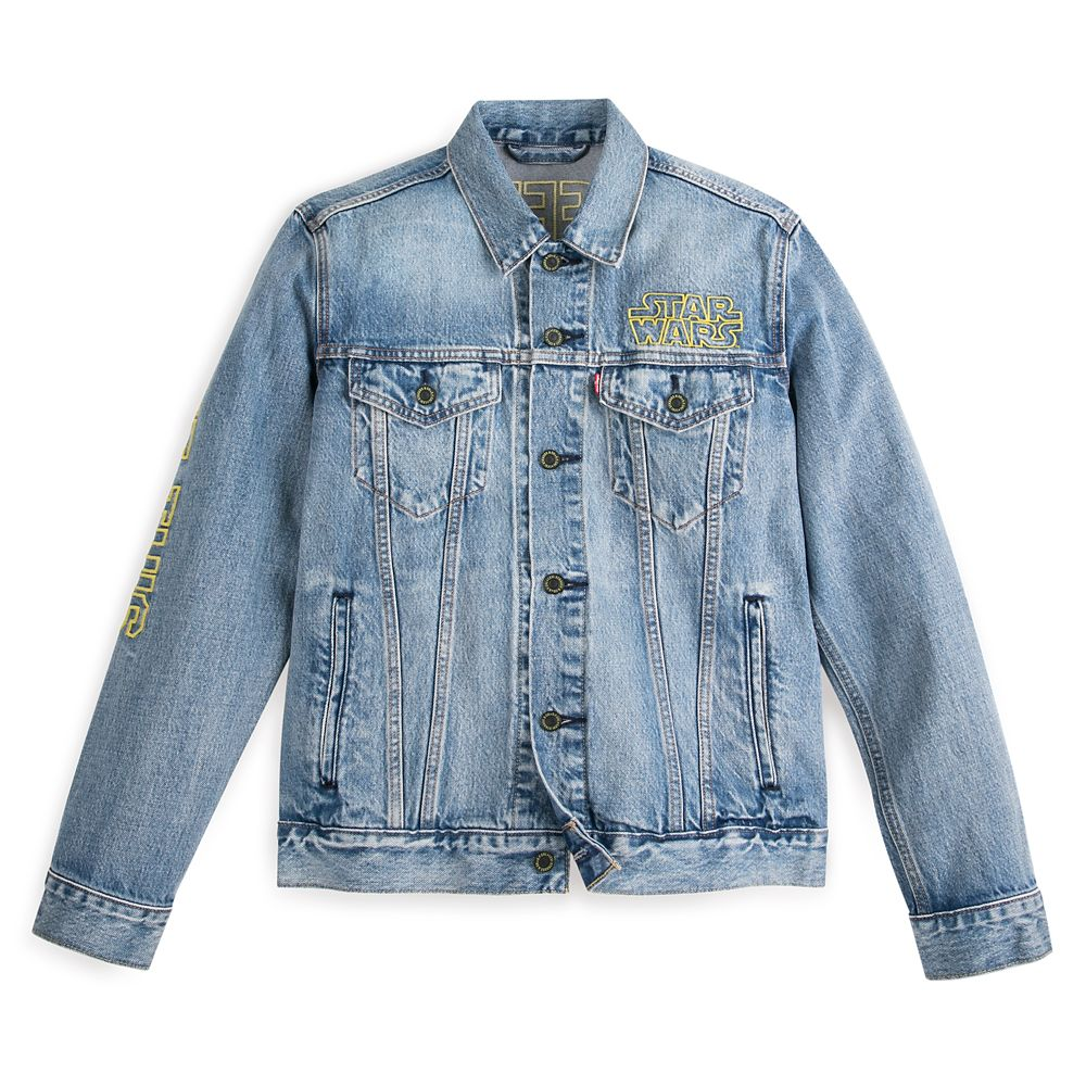 Star Wars Denim Trucker Jacket for Men by Levi's