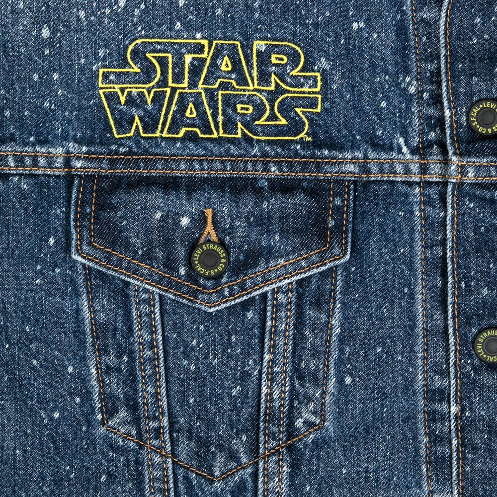 Star Wars Denim Trucker Jacket for Women by Levi's