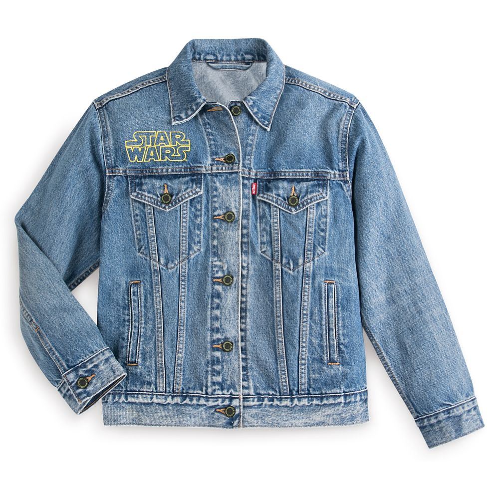 Star Wars Poster Art Denim Trucker Jacket for Women by Levi's