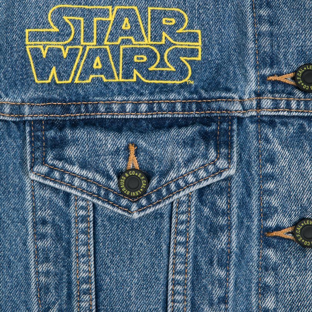 Star Wars Poster Art Denim Trucker Jacket for Women by Levi's