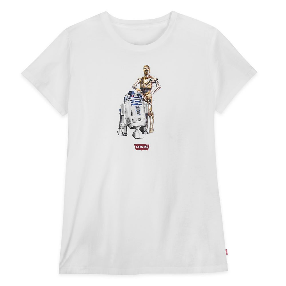 C-3PO and R2-D2 T-Shirt for Women by Levi's – Star Wars