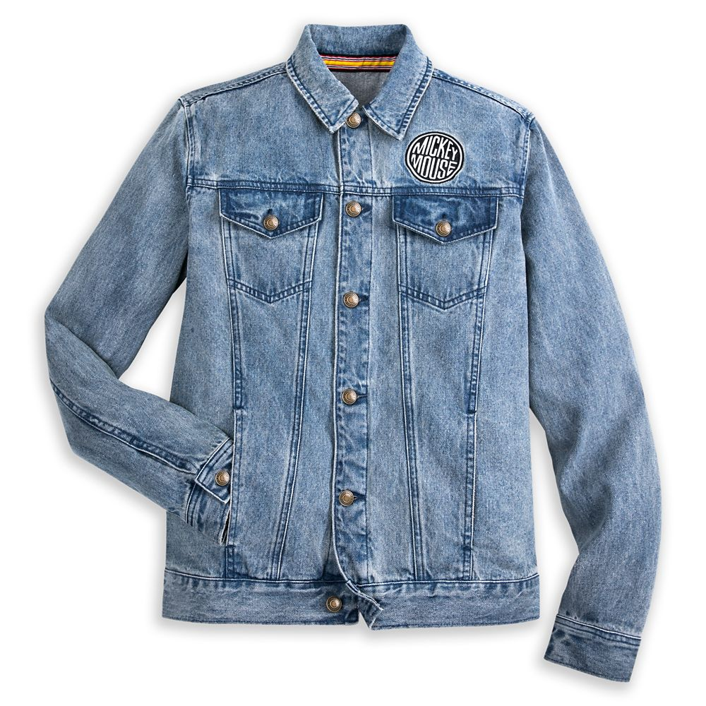Mickey Mouse Denim Jacket for Adults