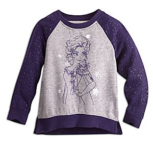 Elsa Raglan Sleeve Sweatshirt for Kids