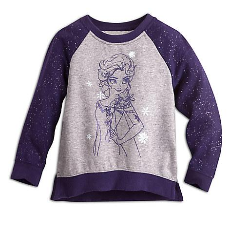 Elsa Raglan Sleeve Sweatshirt for Kids