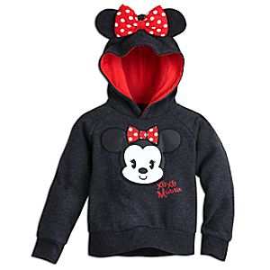 Minnie Mouse Cutie Hooded Fleece Pullover for Kids