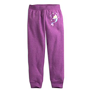 Ariel Fleece Pants for Kids