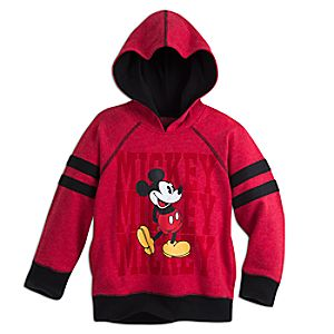 Mickey Mouse Hooded Fleece Pullover for Kids