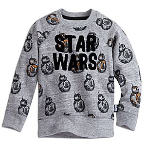 BB-8 Raglan Sleeve Sweatshirt for Kids - Star Wars: The Force Awakens