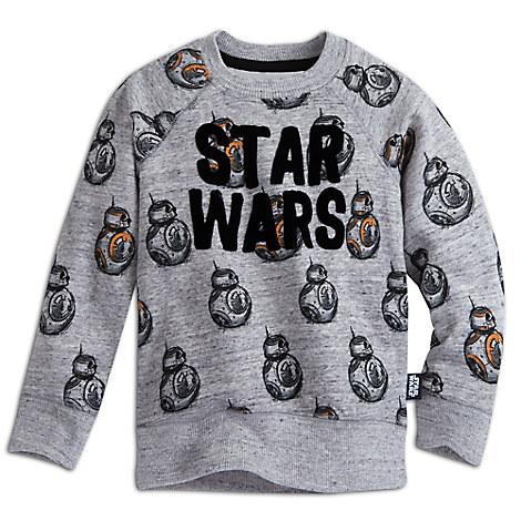 BB-8 Raglan Sleeve Sweatshirt for Kids - Star Wars: The Force Awakens