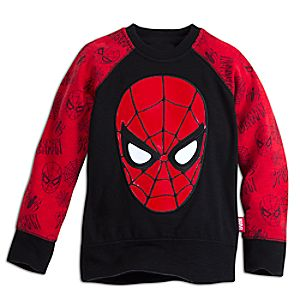 Spider-Man Raglan Sleeve Sweatshirt for Kids