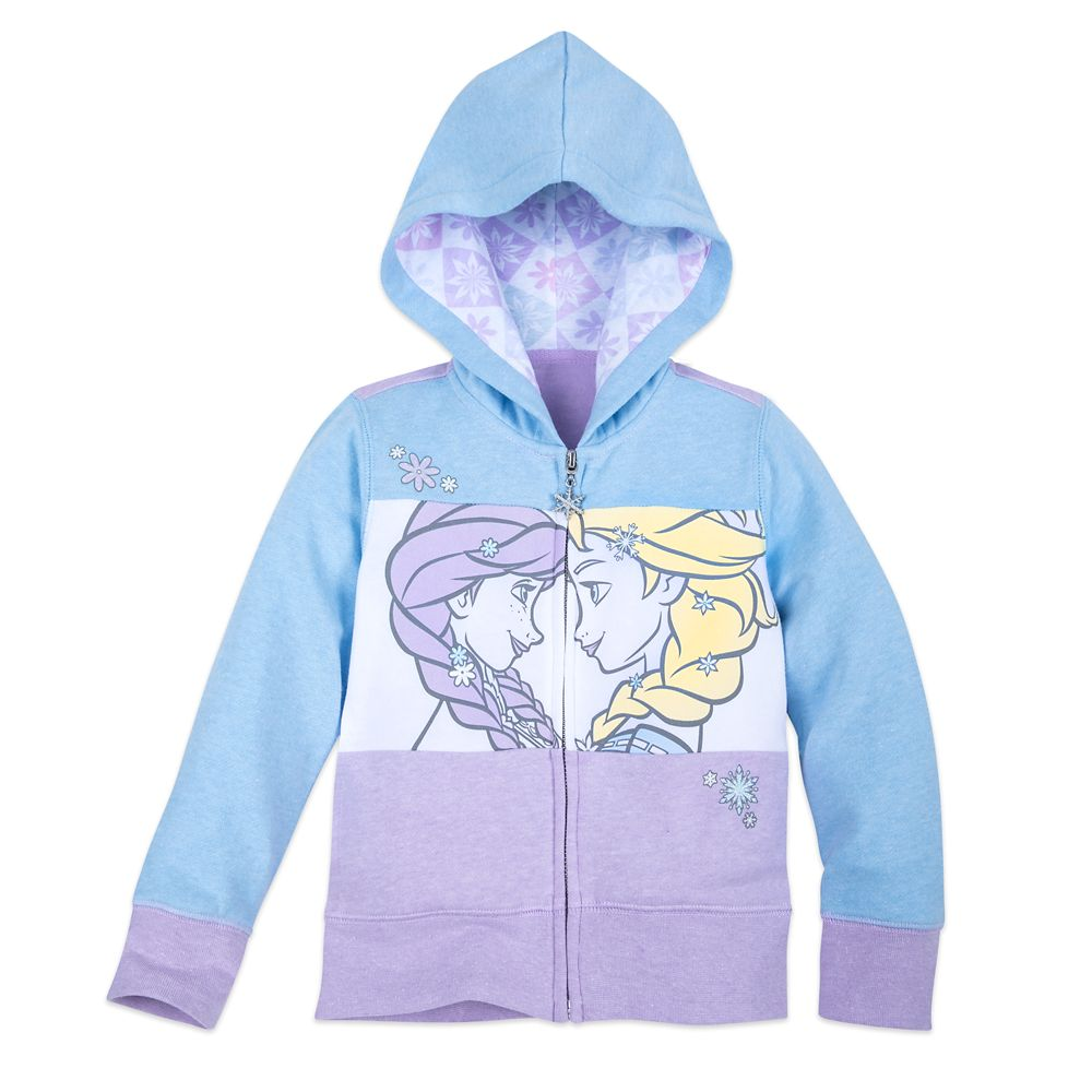 Frozen Zip-Up Hoodie for Girls
