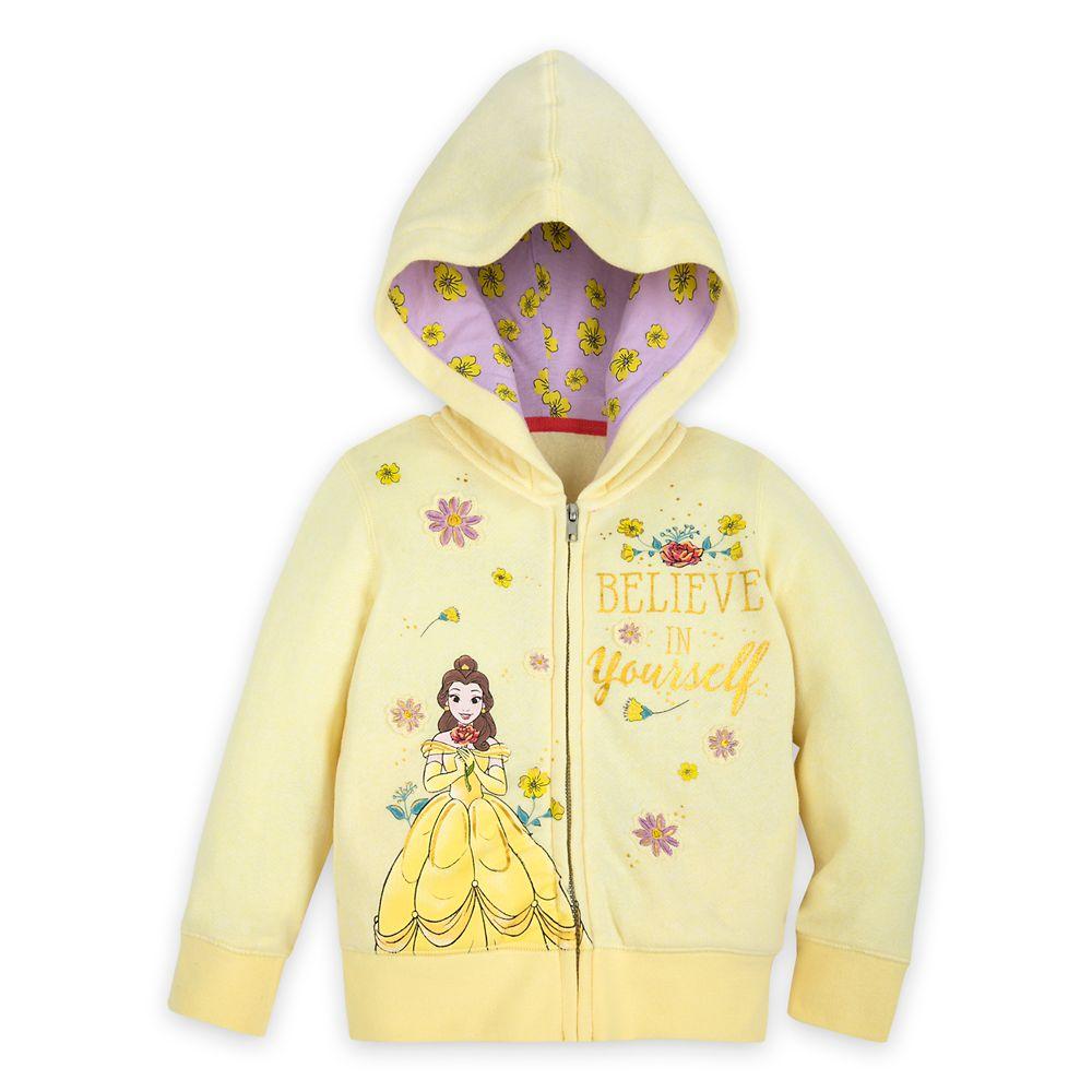 Belle Zip-Up Hoodie for Girls