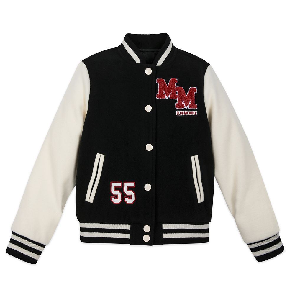 Mickey Mouse Mouseketeer Letterman Jacket for Kids