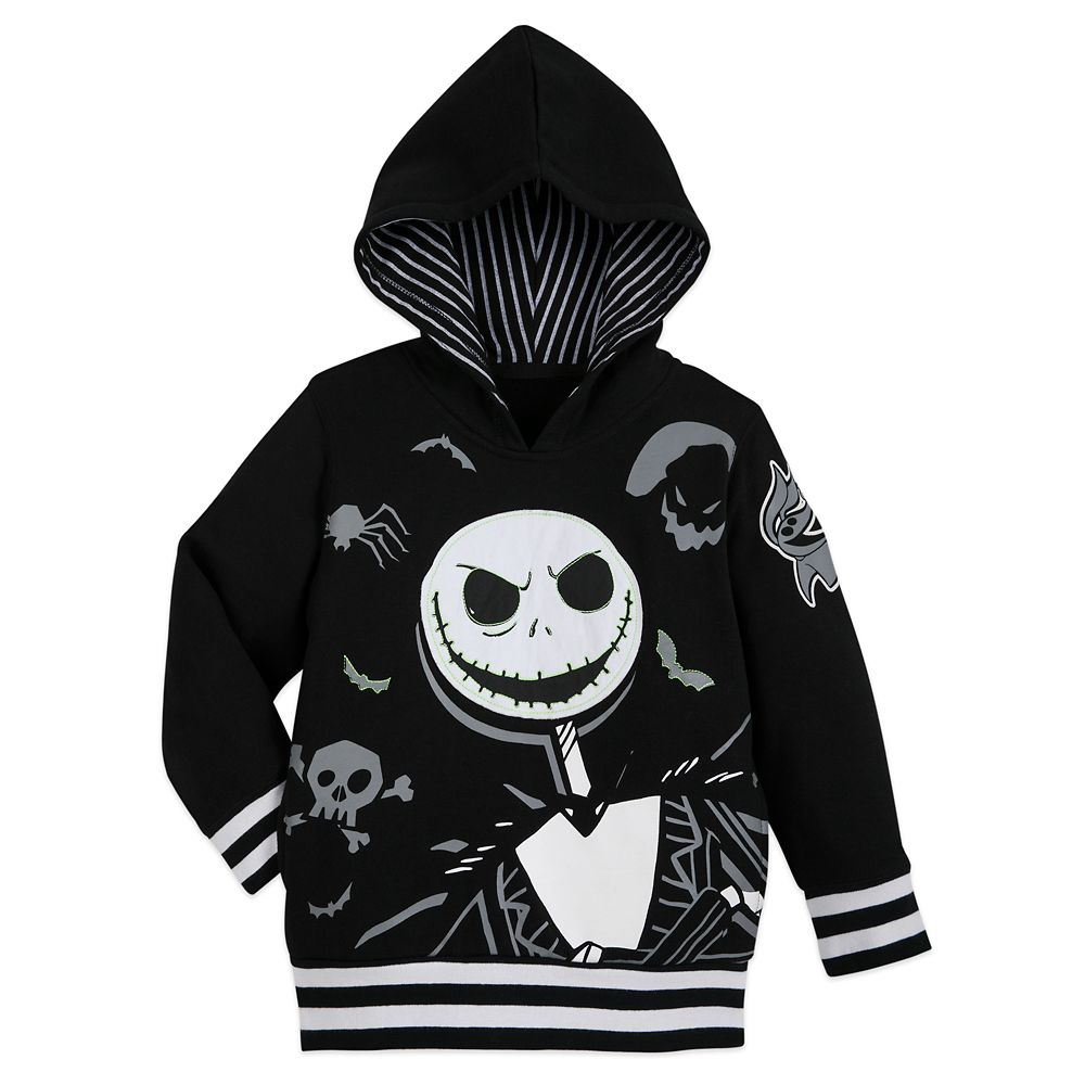Jack Skellington Hooded Pullover for Kids