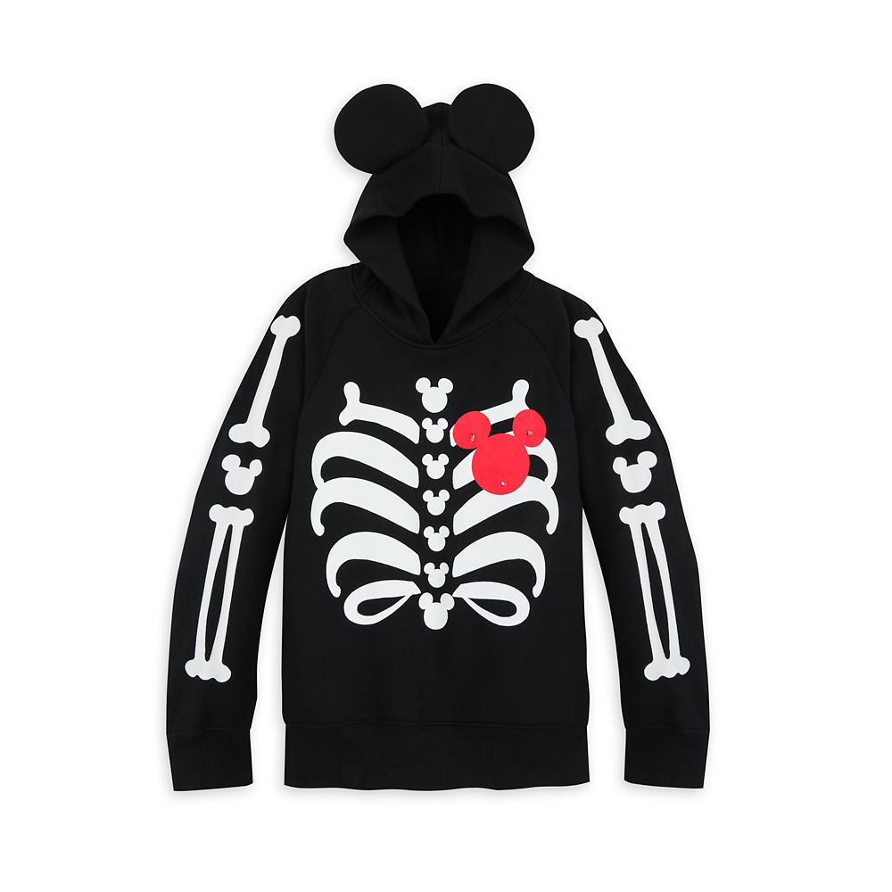 Mickey Mouse Light-Up Halloween Hoodie for Kids
