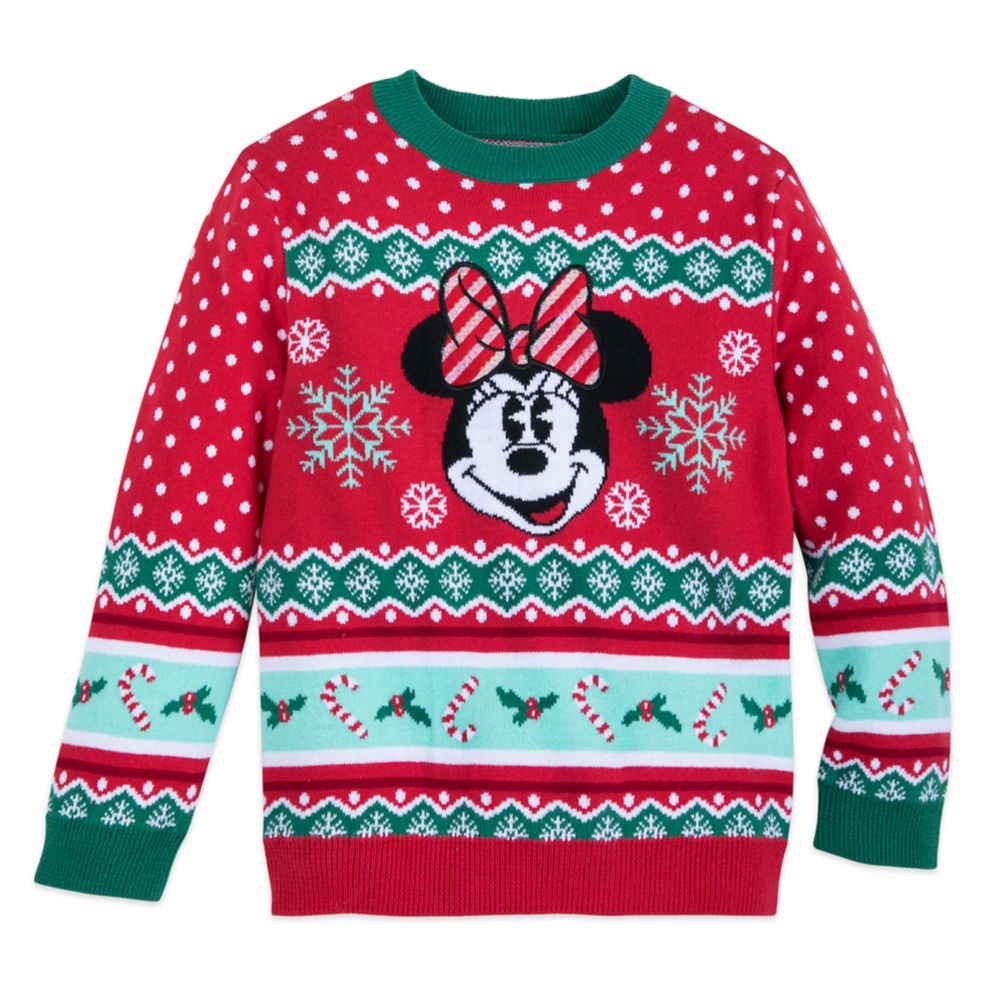 Minnie Mouse Family Holiday Sweater for Girls