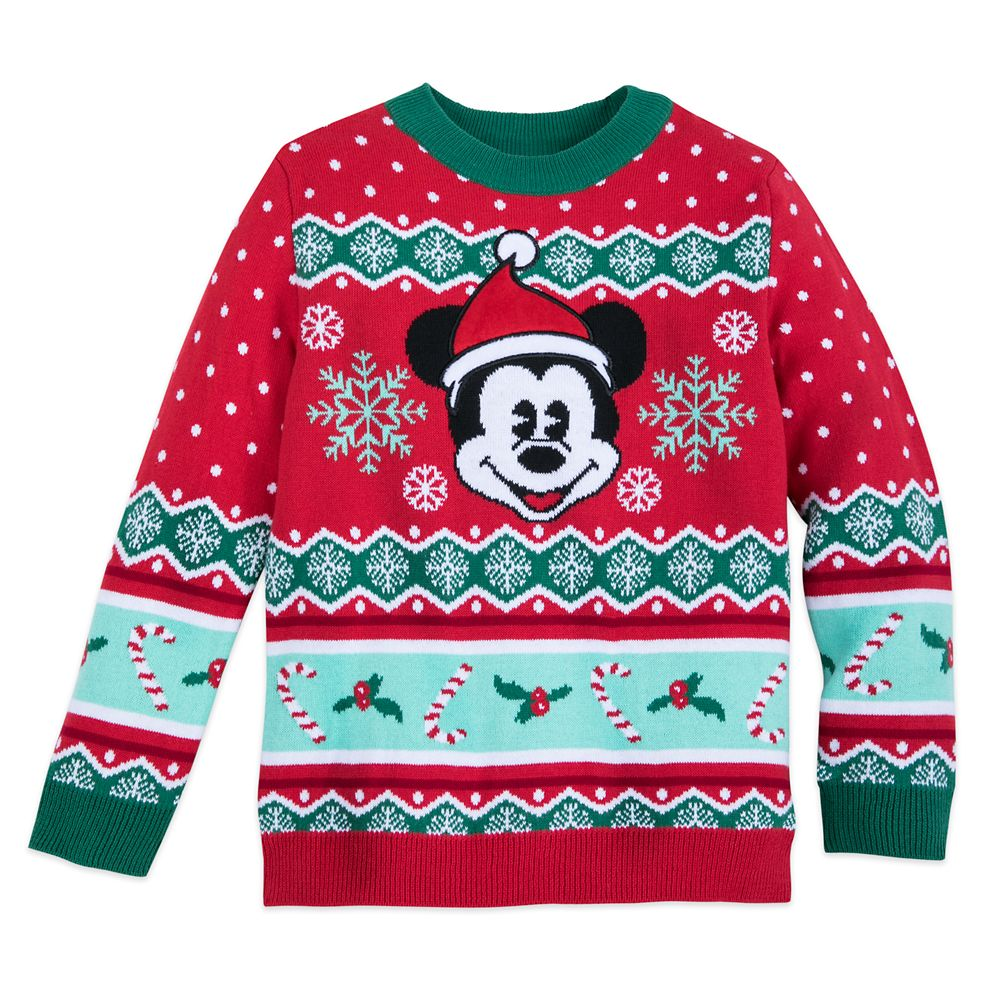 Mickey Mouse Family Holiday Sweater for Boys