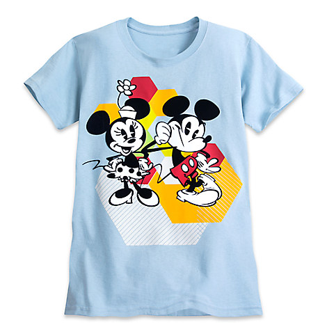 Mickey and Minnie Mouse Summer Fun Tee for Women