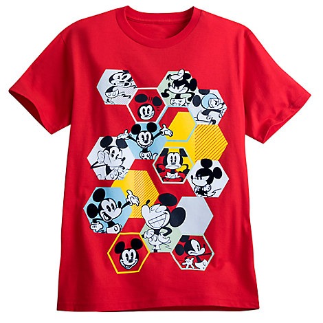 Mickey Mouse Summer Fun Tee for Men