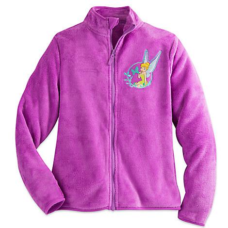 Tinker Bell Fleece Jacket for Women - Personalizable
