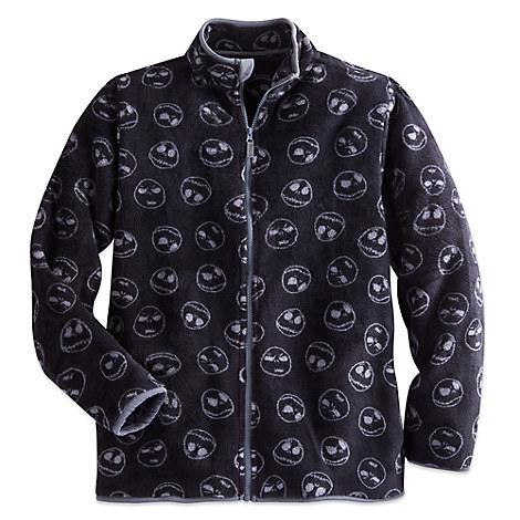 Jack Skellington Fleece Jacket for Men