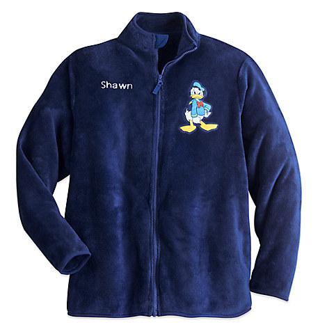 Donald Duck Fleece Jacket for Men - Personalizable