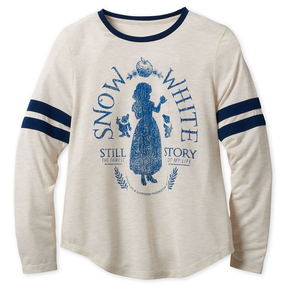 Snow White Long Sleeve T-Shirt for Women