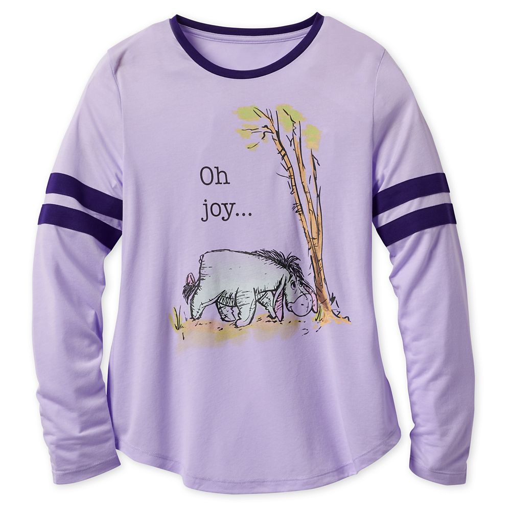 Eeyore Long Sleeve T-Shirt for Women