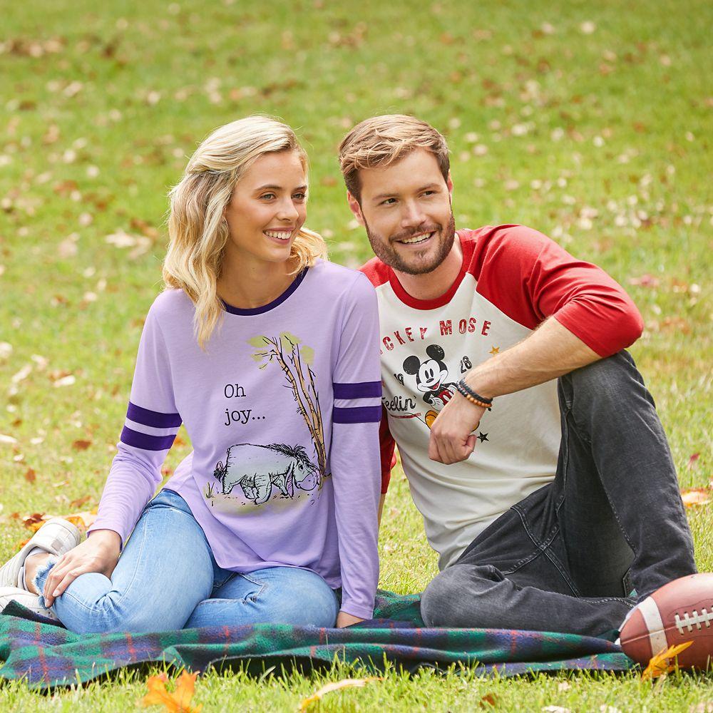 Eeyore Long Sleeve T-Shirt for Women