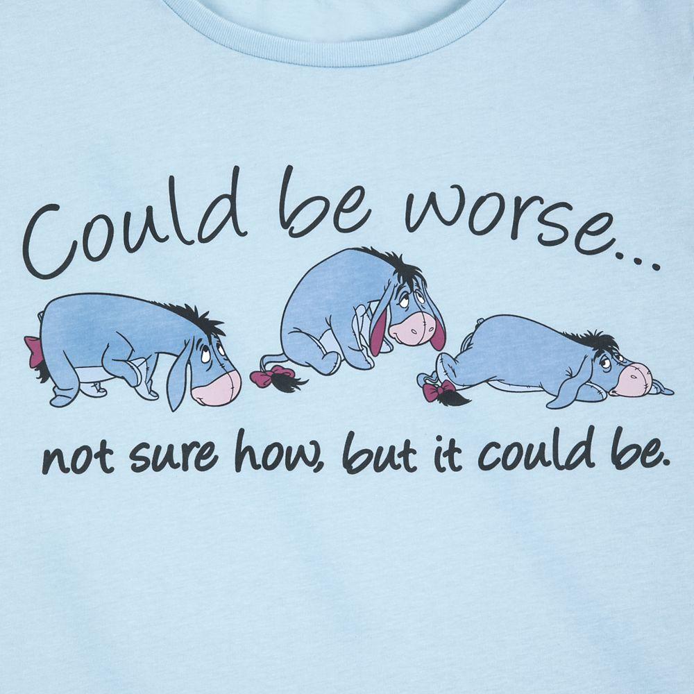 Eeyore Long Sleeve T-Shirt for Women – Winnie the Pooh