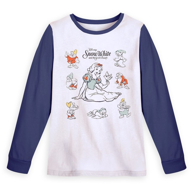 Snow White and the Seven Dwarfs Long Sleeve T-Shirt for Women