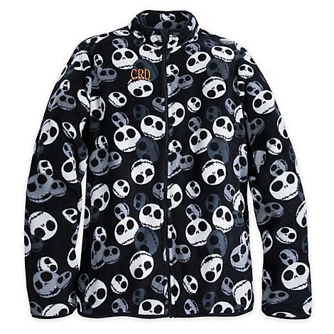Jack Skellington Fleece Jacket for Men - Personalizable