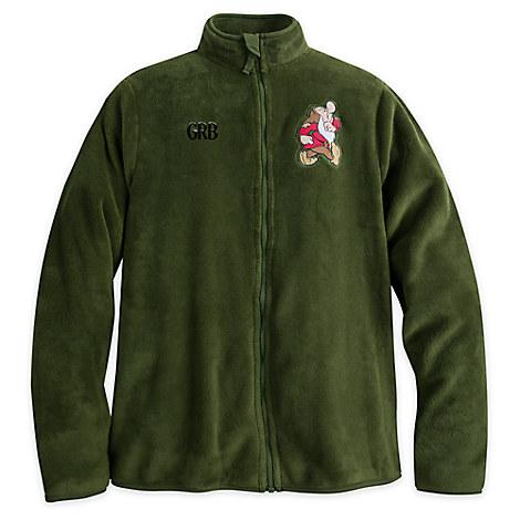 Grumpy Fleece Jacket for Men - Personalizable