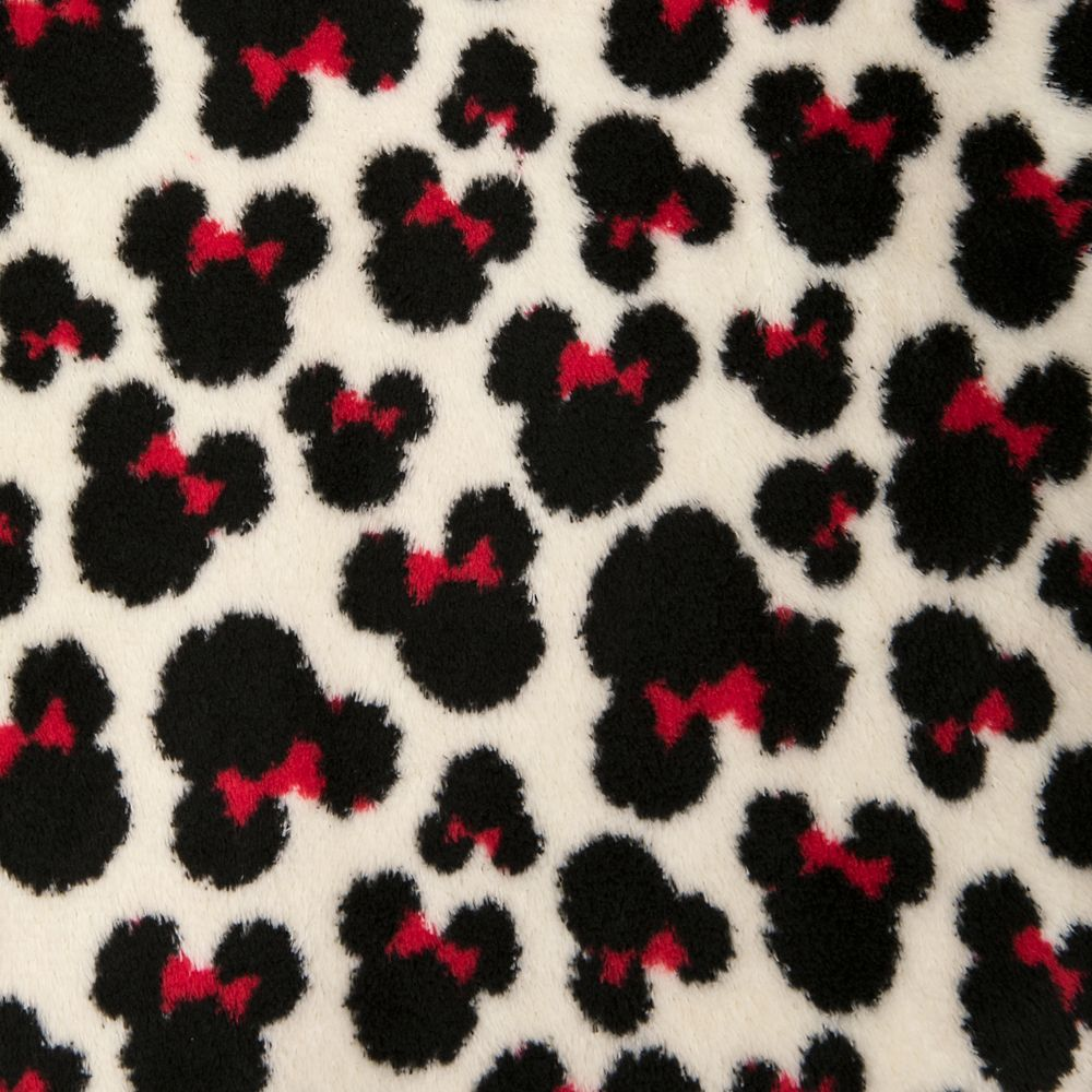 Minnie Mouse Zip Fleece Jacket for Adults