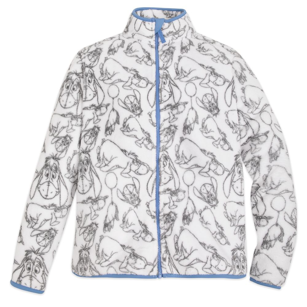 Eeyore Fleece Jacket for Adults