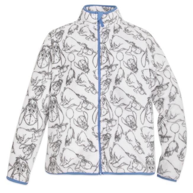 Eeyore Fleece Jacket for Adults – Personalized