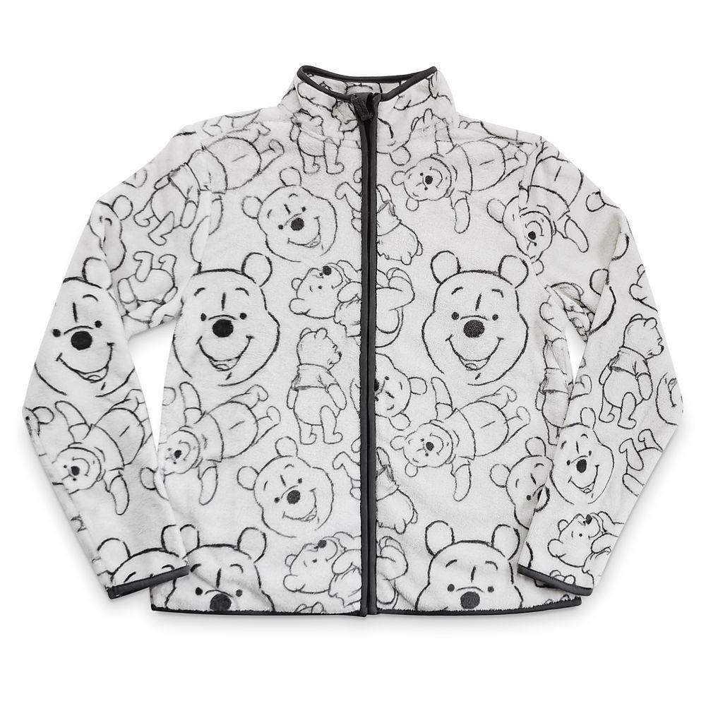 Winnie the Pooh Zip Fleece Jacket for Women