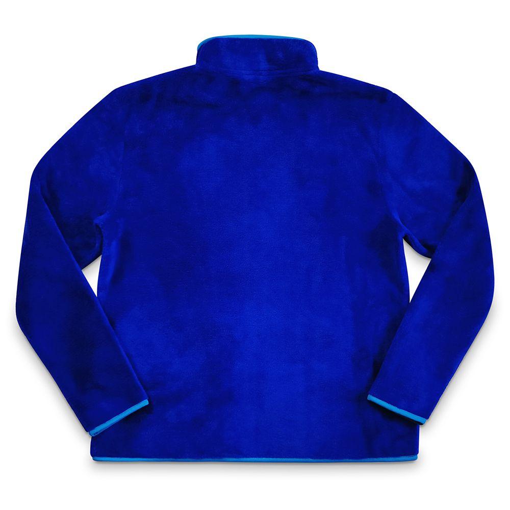 Stitch Zip Fleece Jacket for Women