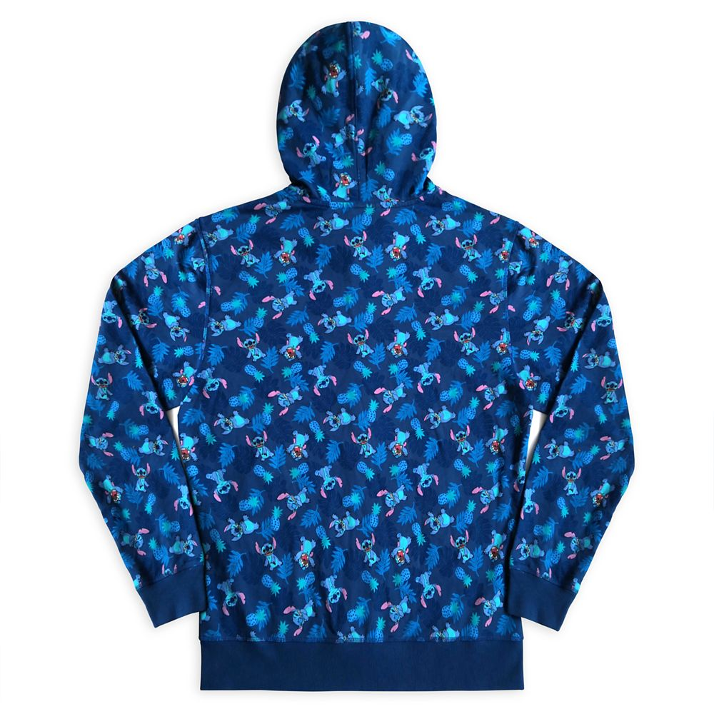 Stitch Zip Hoodie for Men