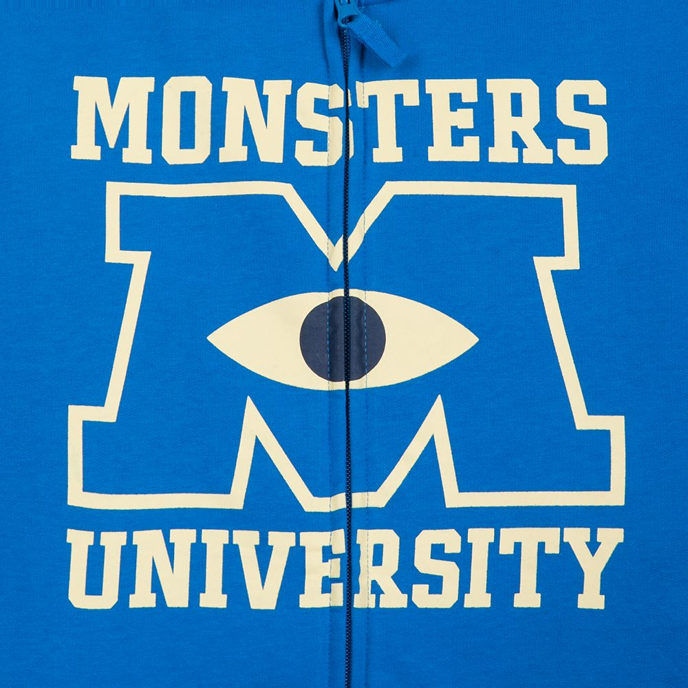 Monsters University Zip-Up Hoodie for Adults
