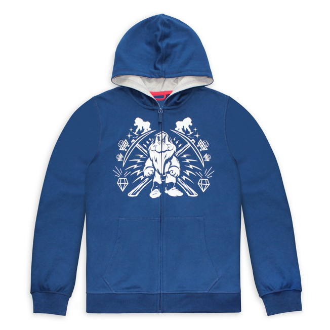 Grumpy Zip Hoodie for Adults – Snow White and the Seven Dwarfs