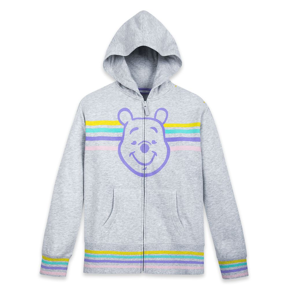 Winnie the Pooh Zip-Up Hoodie for Adults  Personalized Official shopDisney