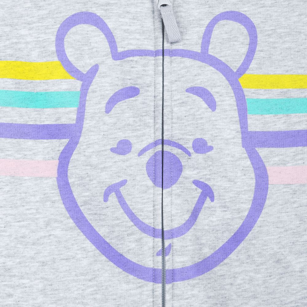 Winnie the Pooh Zip-Up Hoodie for Adults – Personalized