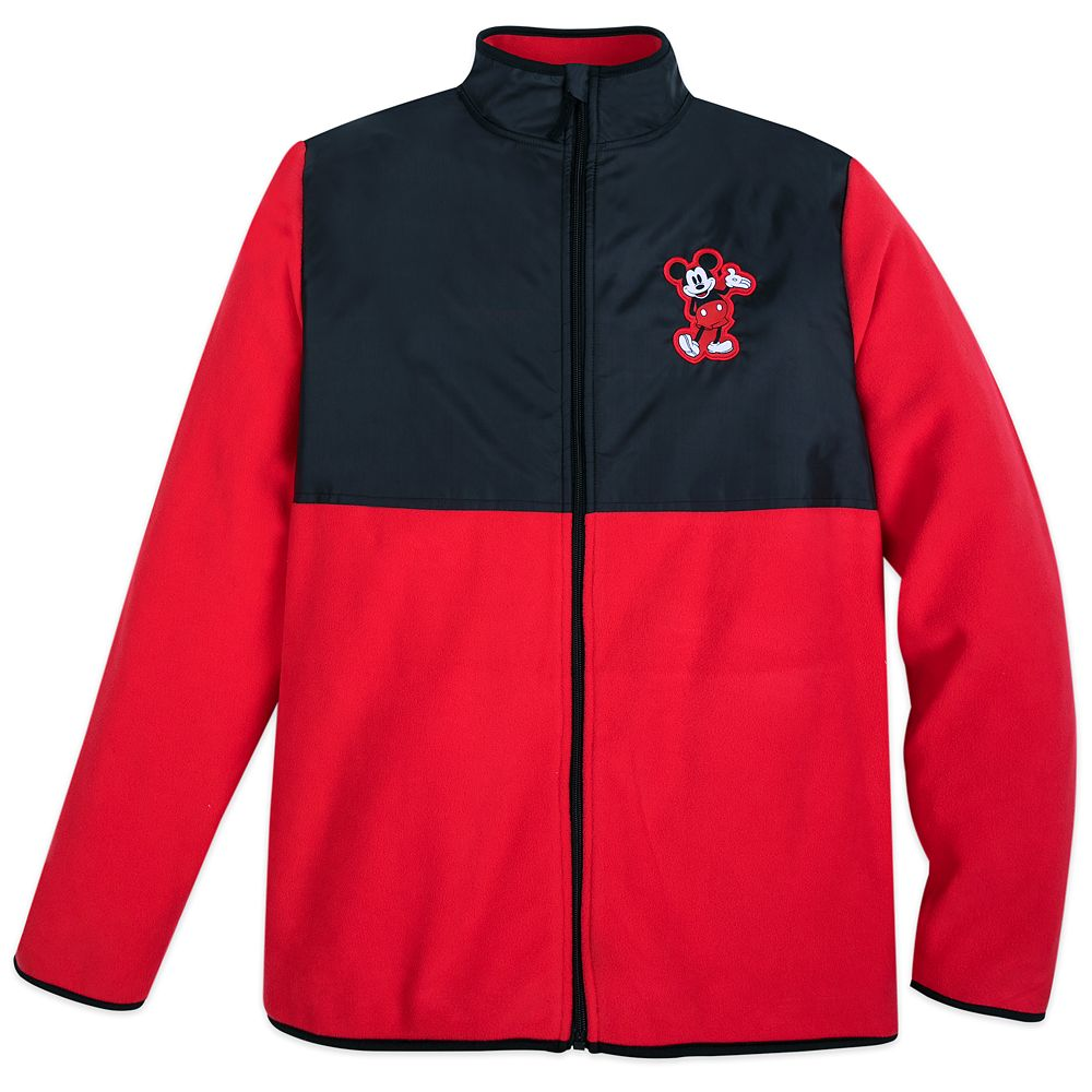 Mickey Mouse Pieced Fleece Jacket for Adults – Personalized