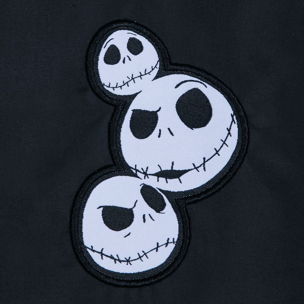 Jack Skellington Pieced Fleece Jacket for Adults – Personalized