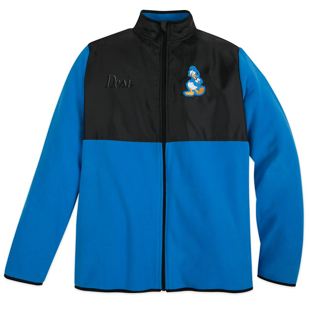 Donald Duck Pieced Fleece Jacket for Adults