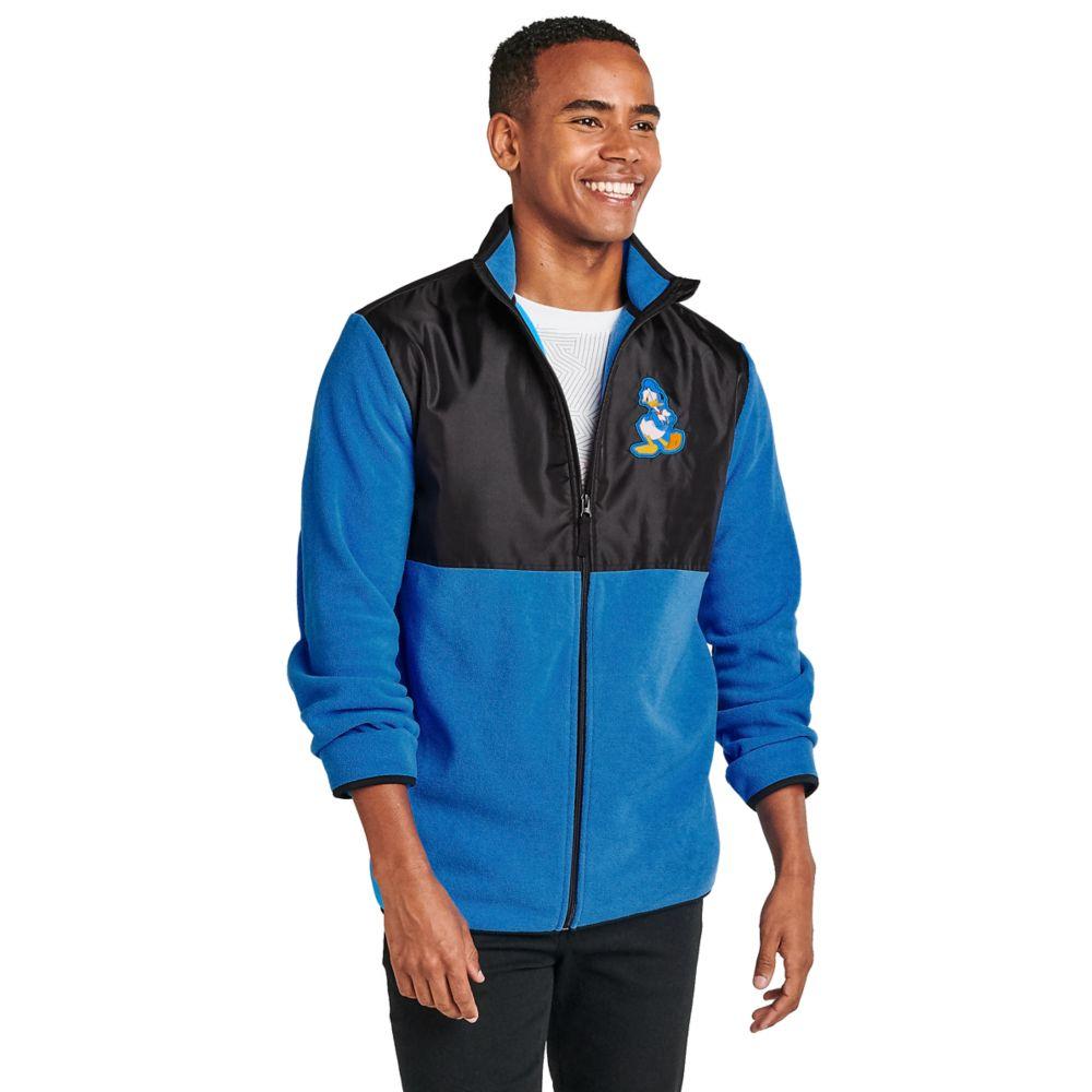 Donald Duck Pieced Fleece Jacket for Adults