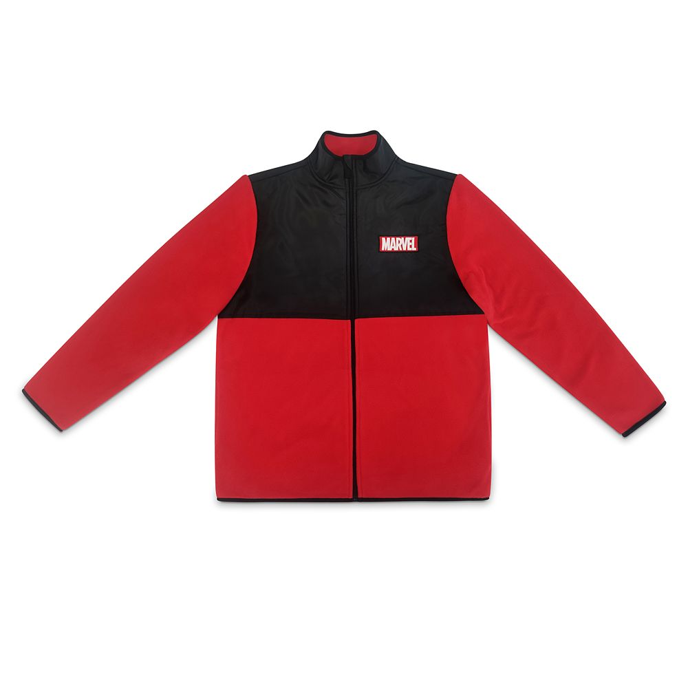 Marvel Pieced Fleece Jacket for Men