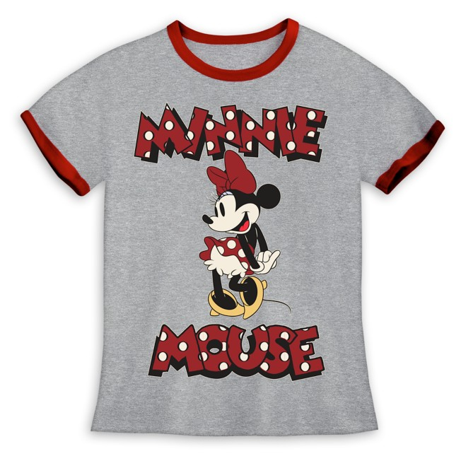 Minnie Mouse Ringer T-Shirt for Girls