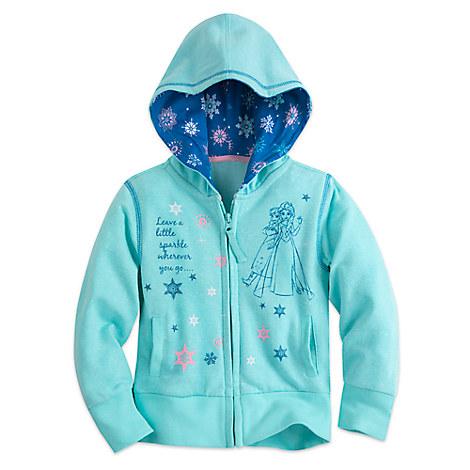 Frozen Zip Hoodie for Girls
